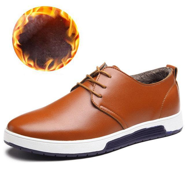 Man Casual Leather Shoes