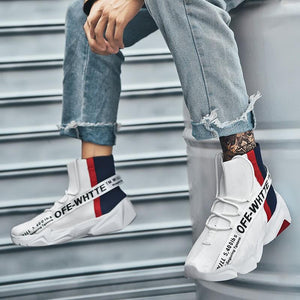 Velocity Man High Top Sneakers