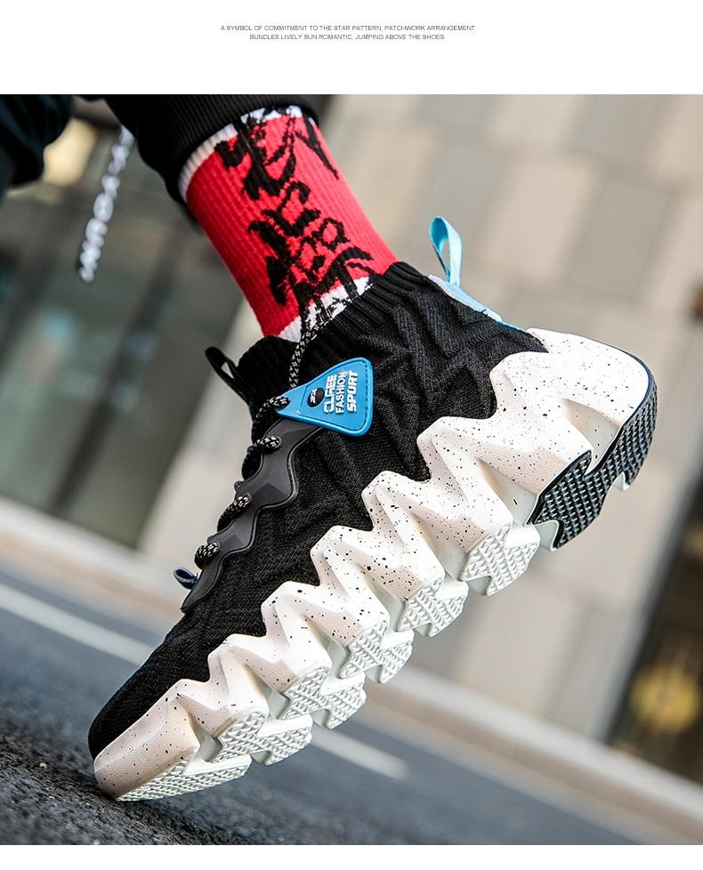 New Popular Mixed Colors Men Breathable Sneakers