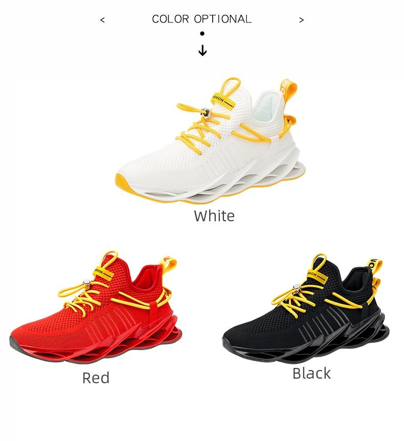 Men Breathable Sports Running Jogging Sneakers