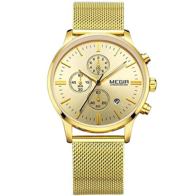 Ambition |2019 - Men Business Stainless Steel Watch - SpringLime