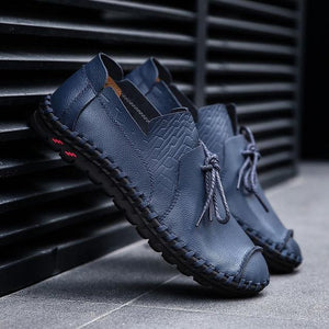 Men's Casual Leather Loafer Shoes
