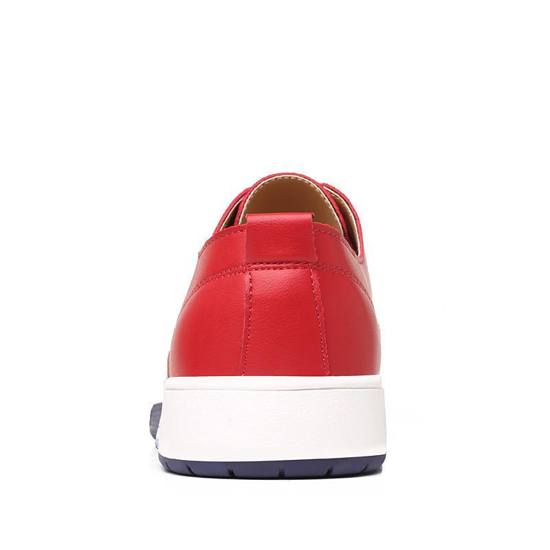 Vermilion Casual Leather Flats - SpringLime