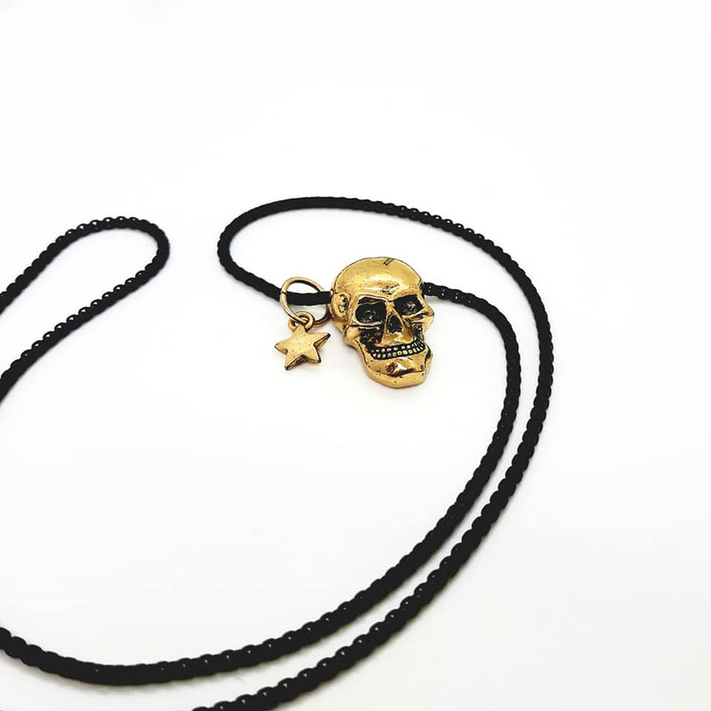Skull & Star Necklace - SuperLdN