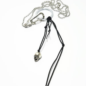 Mini Skull Ball Necklace - SuperLdN