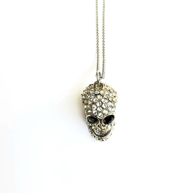 Heavy Skull Necklace - superldn