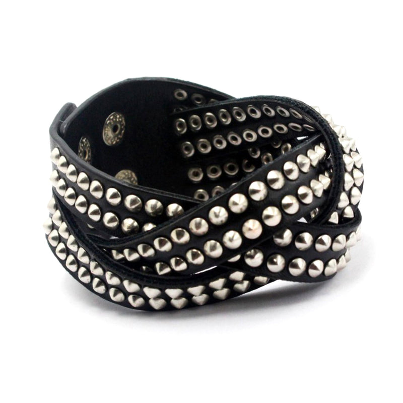 Studded Leather Cuff - SuperLdN