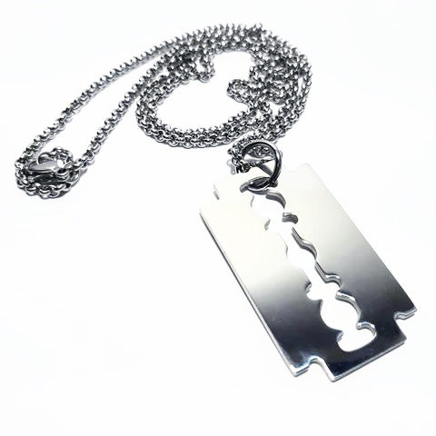 Razor Blade Necklace - SuperLdN