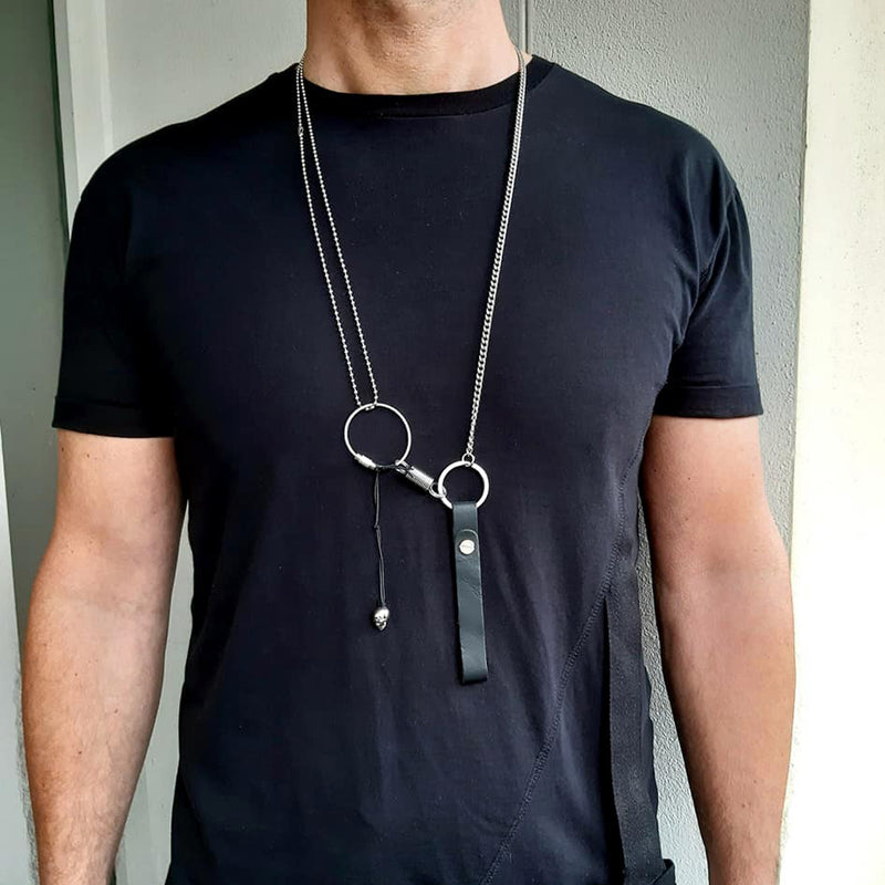 Construction Necklace