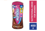 Women's Horlicks Chocolate Flavour 400 gm (Pet Jar)(No Added Sugar)
