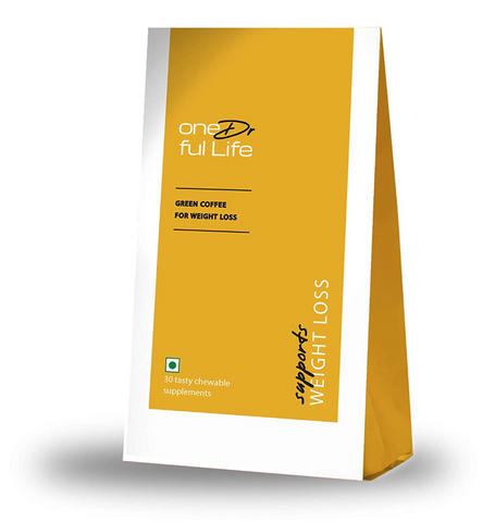 oneDrful life Green Coffee Gummy Supplements for Weight Loss