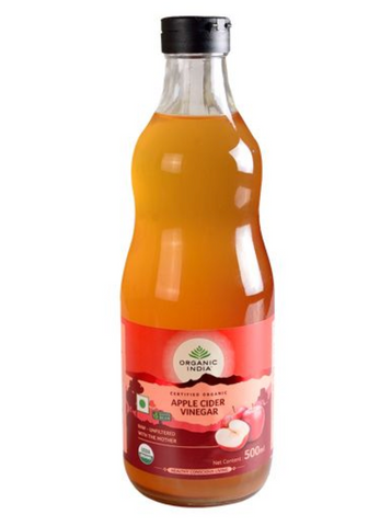 Organic India Apple Cider Vinegar Liquid 500 ml