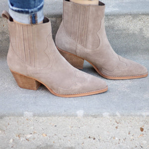 Matisse Avery Bootie in Taupe - Rural Haze
