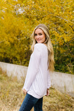 Load image into Gallery viewer, A Ray Of White Long Sleeve V-Neck Top - Adaline Rae Boutique