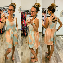 Load image into Gallery viewer, Babydoll Tie Dye Dress