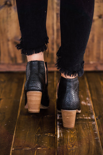 Not Rated Tarim Bootie in Black