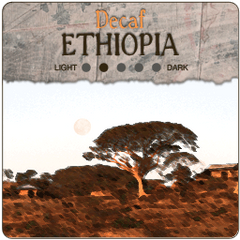 Ethiopia Longberry Coffee Decaf