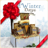 Cold Winter Days Holiday Coffee Gift Basket