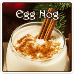 Egg Nog Flavored Coffee