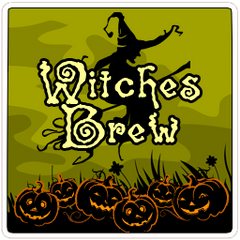 Decaf  Witches Brew - Candy Corn Flavored Coffee