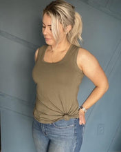 Load image into Gallery viewer, Ladies Everyday Tank - Olive