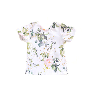 Fitted Top - Spring Floral