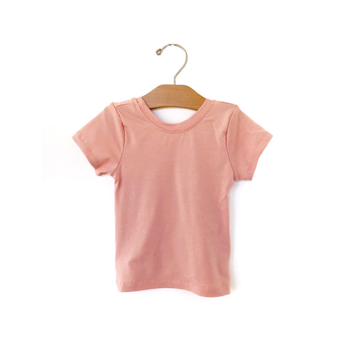 Fitted Top - Mellow Rose