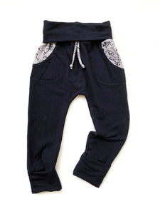 Grow Sweats - Navy/Dinos