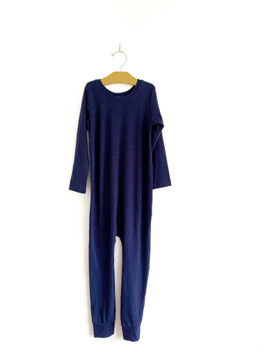 Long Sleeve Coverall - Navy