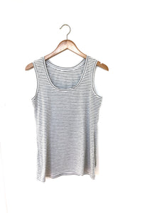 Ladies Everyday Tank - Grey Stripe
