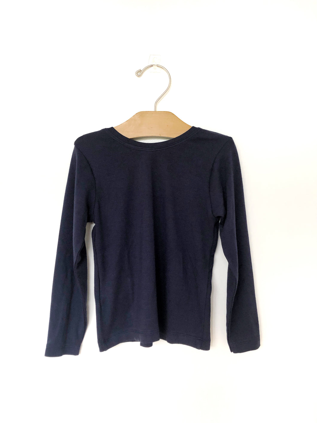 Fitted Top - Navy