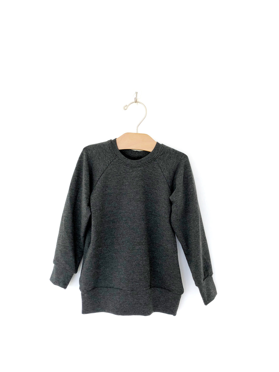 Mini Pullover - Charcoal