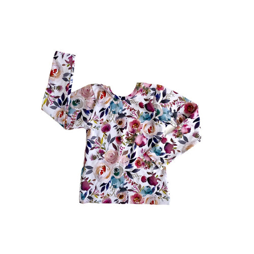 Fitted Top - Autumn Floral