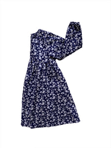 Dress - Navy Bloom