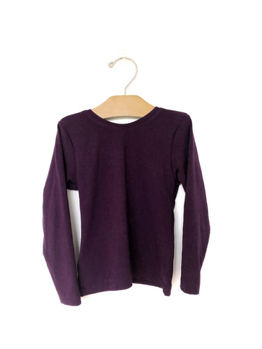 Fitted Top - Plum