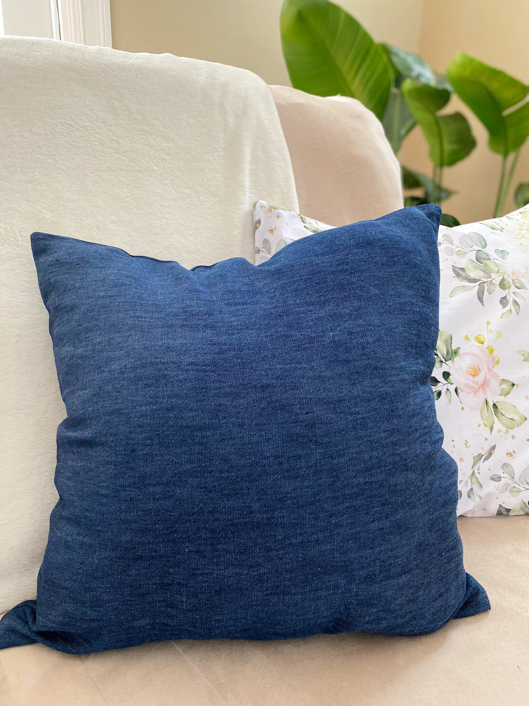 Pillow Cover - Denim