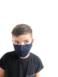 CHILD Shaped Mask - Navy