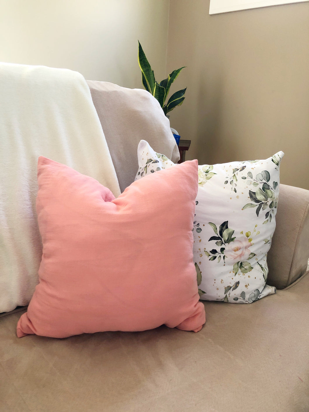 Pillow Cover - Rose
