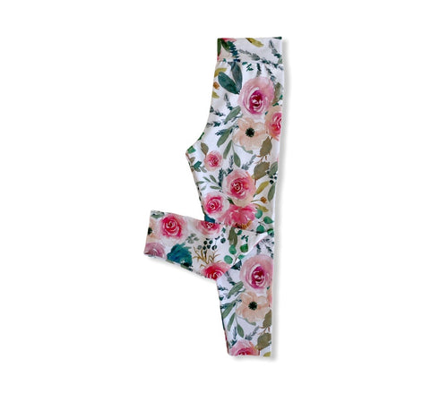 Leggings - Blush Floral