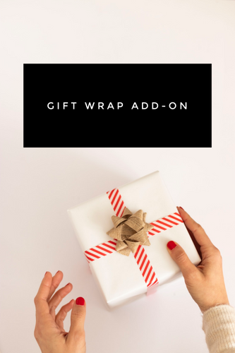 Gift Wrap + Note Card