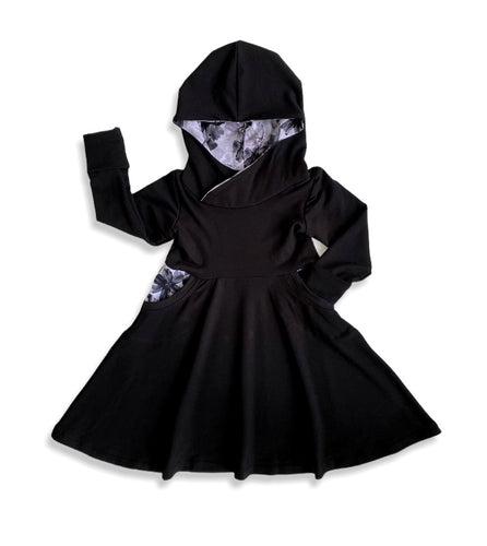 Monochrome Grow Dress