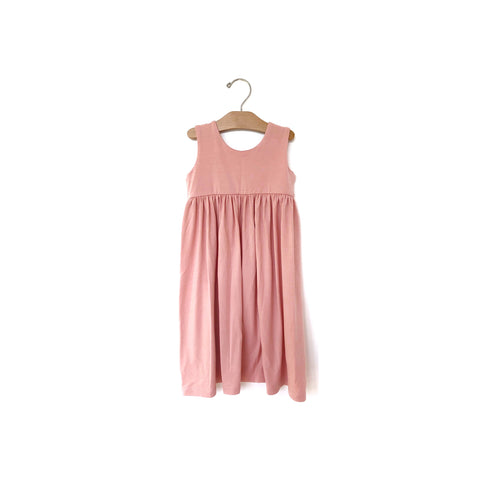 Mini Maxi Dress - Rose