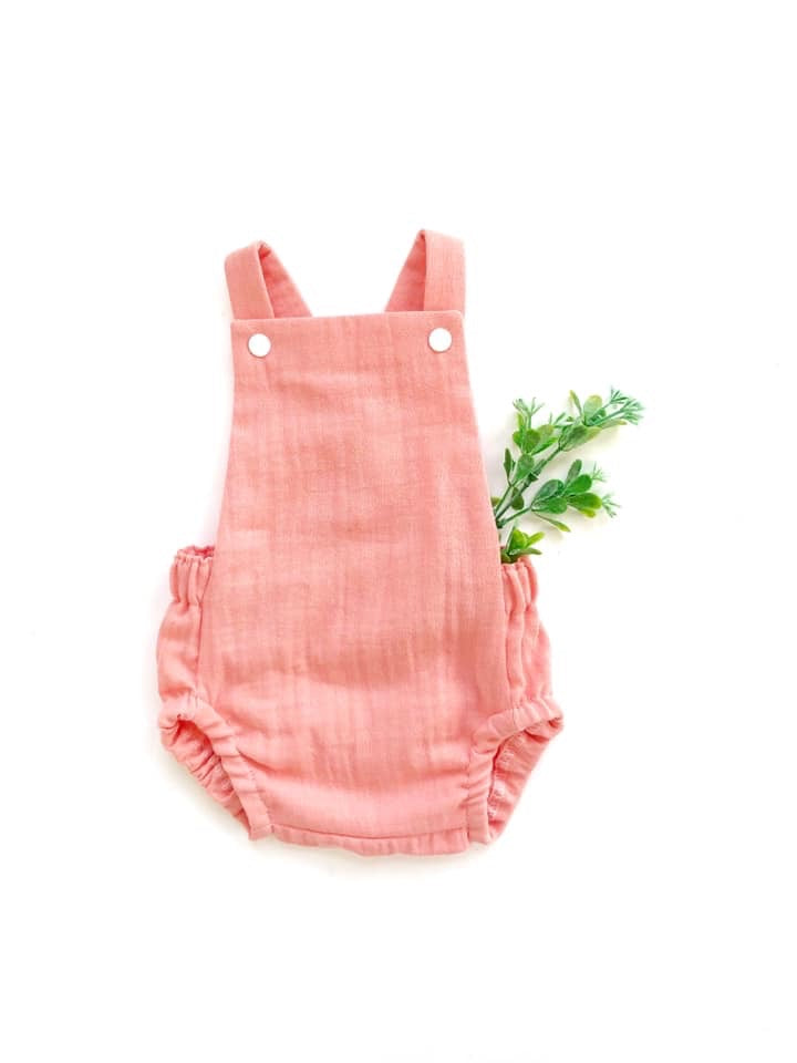 Summer Romper - Rose