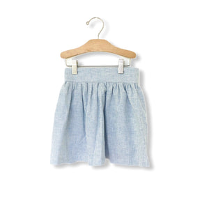 Skirt - Chambray Stripe