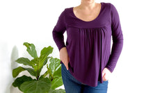 Load image into Gallery viewer, Ladies Niagra Top - Plum
