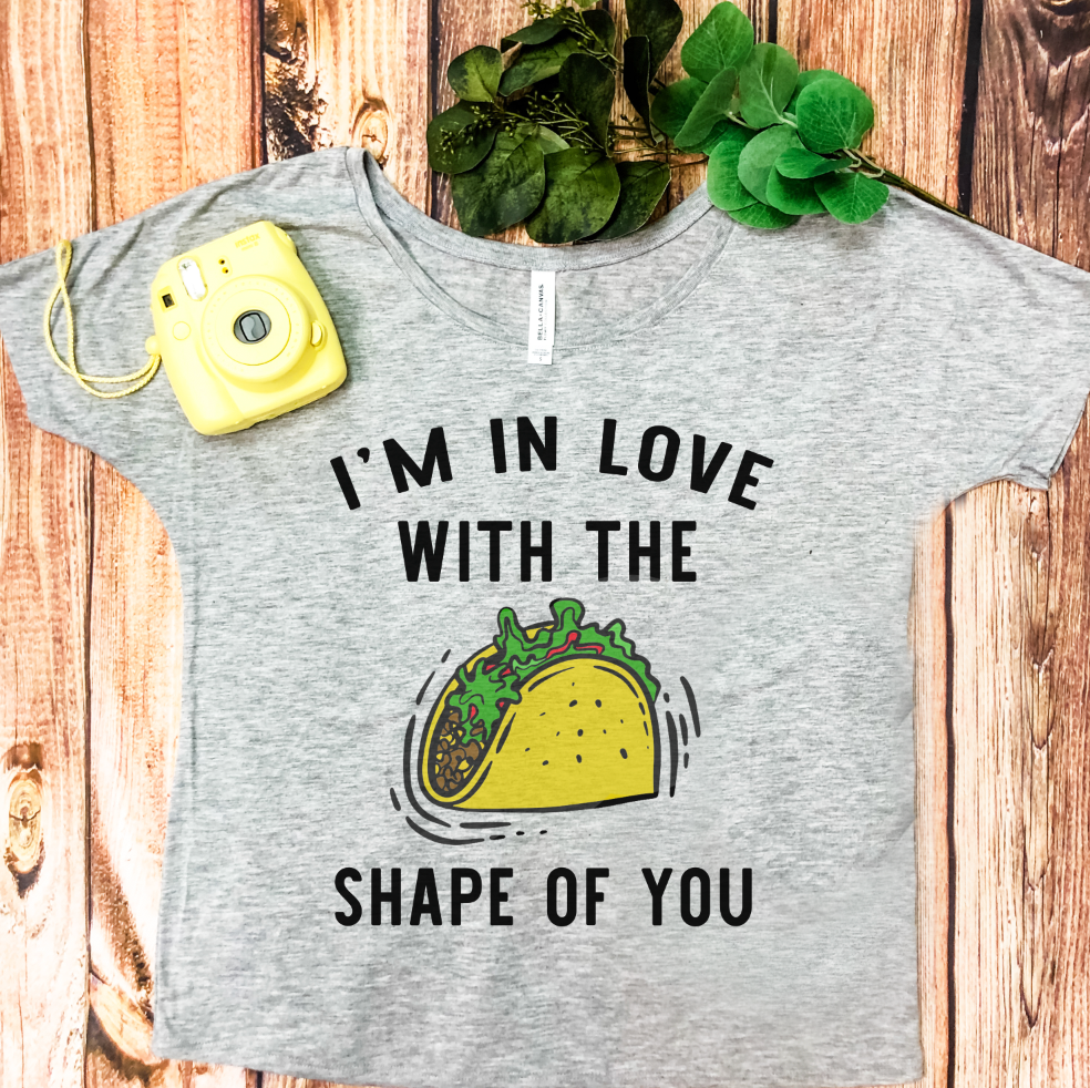 Shape Of You Graphic Tee