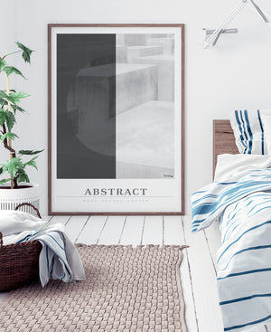 Grafisk billede plakat Abstract