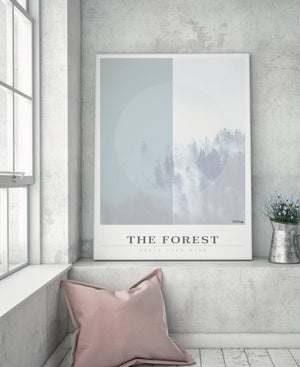 Grafisk billede plakat - The Forest