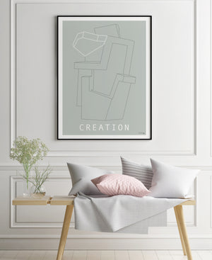 Grafisk plakat - Creation