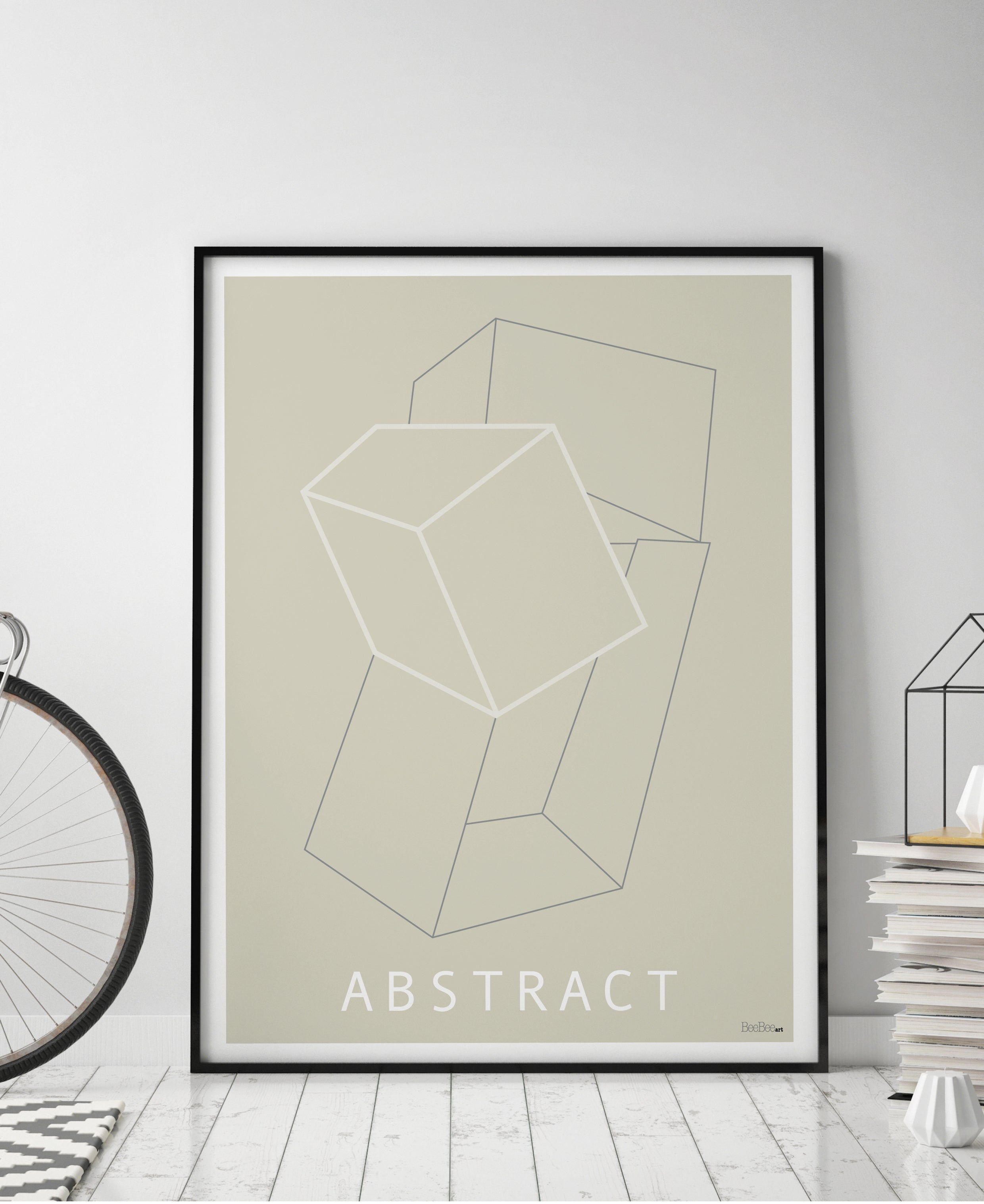 Grafisk plakat - Abstract